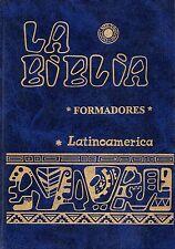 La Biblia Latinoamerica FORMADORES Pasta Dura AZUL -Catolica Latinoamericana