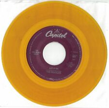 Beatles 45 single COLORED Vinyl Yellow - Let It Be