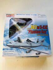 Dragon 1/400 Boeing 747 with X-45C Phantom Ray Edwards AFB 56330