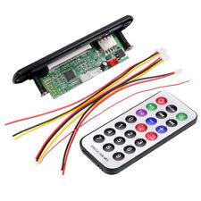 Universal 12V Wireless Bluetooth MP3 WMA Decoder Board Audio Module USB TF Radio