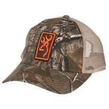 437b05730d3fb Browning Hunting Hat Baseball Cap Conway Realtree Xtra Orange RTX 308175721