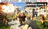 Serious Sam 4 Deluxe Edition Shared Account [OFFLINE ONLY] - READ DESCRIPTION