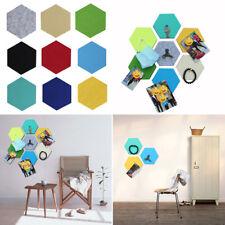Los paneles de hoja de fieltro Hexagonal Auto-Adhesivo Pared Adhesivo Decoración Hogar Cuarto de Niños