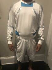 Adidas Kolor Hybrid Mens Shirt And Shorts Sz Medium White Blue Silver