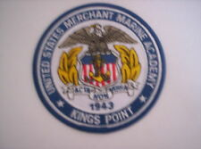 Ricamate della United States Merchant Marine Academy Kings Point ca 10cm