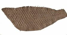 TilapiaLeder Fischleder beige unlackiert ungefärbt pflanzliche Gerbung
