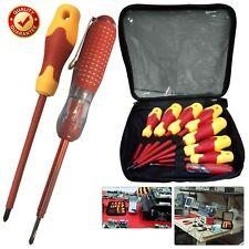 8pcs Insulated Electrician Screwdriver Set Pencil Slotted Phillips Magnetic Tool