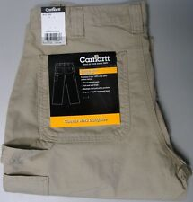 Carhartt B151 Canvas Work Dungarees Pants 34 waist 32 inseam