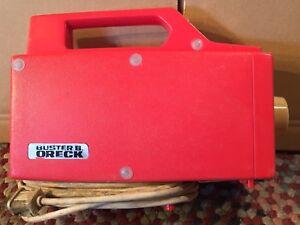 Oreck Buster B ORIGINAL VINTAGE Vacuum Works Great!