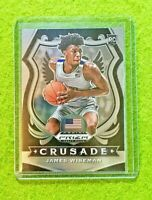 JAMES WISEMAN PRIZM ROOKIE CARD CRUSADE SP WARRIORS RC MEMPHIS 2020 Panini Prizm