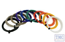 DCW-32SET DCC Concepts Pack of all Decoder Wire Colours (32g Stranded Wire)