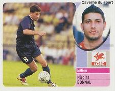 NICOLAS BONNAL # LILLE LOSC STADE DE REIMS STICKER  PANINI FOOT 2003 ~