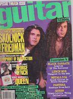 SEPT 1992 GUITAR SCHOOL vintage music magazine MEGADETH