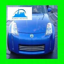 CHROME TRIM FITS GRILLE GRILL FOR 2006-2009 NISSAN 350Z 06 07 08 09 2007 2008