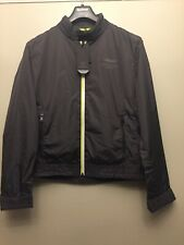 Hackett Men's Aston Martin Racing Blouson Jacket, Steel Grey, Large RRP £275