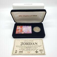 Michael Jordan Highland Mint Last Shot Solid Nickel Silver Coin Motion Card Set