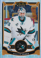 15/16 O-PEE-CHEE OPC PLATINUM WHITE ICE #106 MARTIN JONES /199 SHARKS *29052