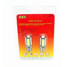 2 LAMPADINE 13 LED SMD 5050 T10 5W BIANCO CANBUS NO ERROR ACCESSORI AUTO TUNING