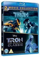 TRON CLASSIC / TRON LEGACY 1 & 2 [Blu-ray Set] Original + New Movie Combo Pack