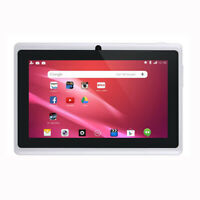 Tableta para NiñOs de 7 Pulgadas Androide CáMara Dual de Cuatro NúCleos U7Q5