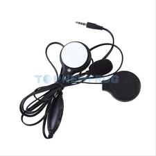 Motorbike Helmet Speakers with Mic Volume Control Headset Motorcycle MP3 GPS