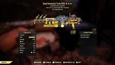 Fallout 76 (xbox) ⭐️⭐️⭐️ Quad Tesla FFR (PvP)