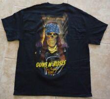 Guns N' Roses GNR Sold Out Axl Rose Skull Skeleton Shirt 11-29 17 LA Forum XL