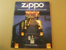 FULL SIZE ZIPPO LIGHTER CATALOG 1999 SLIGHTLY USED