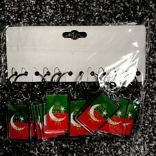 12 X Keyrings PTI PAKISTAN IMRAN KHAN Key Ring