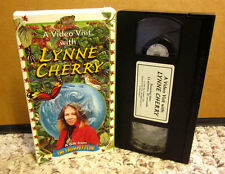 LYNNE CHERRY Video VIsit eco documentary Great Kapok Tree VHS biography 1998