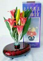 FIBER OPTIC FLOWER ARRANGEMENT PERFECT for HOME or OFFICE  NOS
