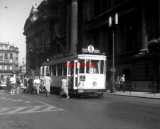 PHOTO  BELGIUM TRAMS 1959 BRUXELLES GROS TILLEUL SNCV STANDARD TRAM NO 1039 ON R