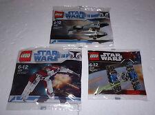 LEGO Star Wars  8028+8031+8033 Tie + V-19 Torrent + General Grievous Starfighter