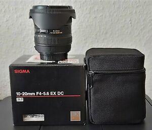 Sigma Weitwinkel Zoom-Objektiv 10-20mm f4-5.6 EX DC HSM Canon