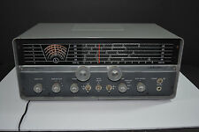 Vintage 1959 1961 Hallicrafters S-108 Vacuum Tube Ham Radio Atomic Space Age Era