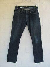 MEN'S GAP JEANS 32 X 34 1969 STRAIGHT LEG BLUE DENIM PRE OWNED