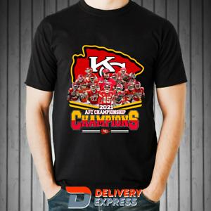 Kansas City Chiefs AFC Championship 2021 Champions T-Shirt S-3XL