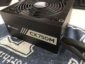 Corsair CX750M 750W SemiModulare 80+ Bronze ATX Alimentatore silenzioso per PC