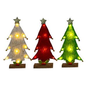 Mini Weihnachten Baum Klein Künstlich Kiefer mit Ständer Urlaub Tisch Dekor Rg