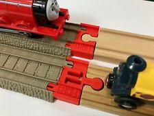 TrainLab TrackMaster 2009 to Wood Train Track Adapter Thomas Brio Ikea 2pcs RED