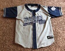 Zero Casualties 00 Men's Jersey size Xl Grey And Navy Logo Vtg urban Euc Nice