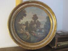 1700-1799 Landschaft-&-Stadt-Original-der-Zeit Originalgemälde (bis 1700)