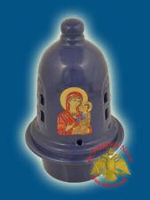 Orthodox Ceramic Dome Style Oil Candle Vigil Lamp 6 Colours Ikonenampel Kantili