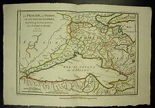 La Phocide la Doride et les Pays des Locriens Carte c 1790  Barbié du Bocage map