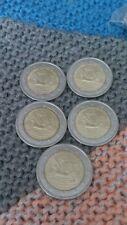 5 x 2 EUROS.2011Portugal  Méndez.Pinto sin circular