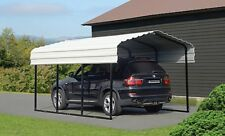 10x15x7 Arrow Shed ShelterLogic Metal Carport Canopy CPH101507 Wind & Snow Rated