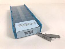 INGERSOLL TDC2 New Carbide Inserts Grade TT8020 10pcs S