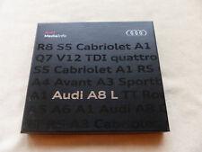 Audi A8 L W12 quattro Typ D4 - Pressemappe Media-Info CD-Rom Presskit 07.2010
