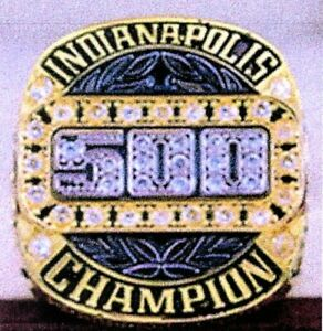 2018 INDY 500 102nd Running Motor Cup Championship Ring SIZE 12