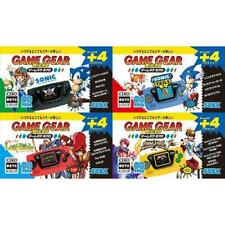 Sega Game Gear 30th Jubiläum Spiel Ausrüstung Micro 4 Farbe Konsole Set